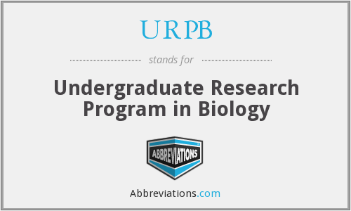 What does URPB stand for?