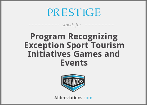 What does PRESTIGE stand for?
