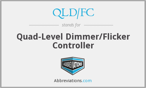 What does dimmer stand for?