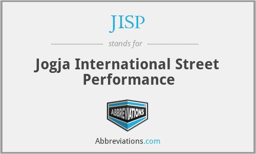 JISP - Jogja International Street Performance