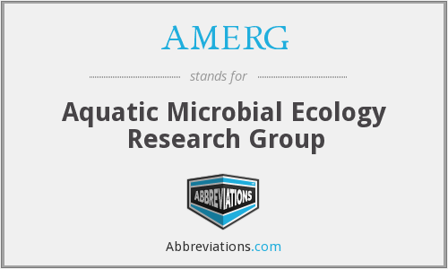 AMERG - Aquatic Microbial Ecology Research Group