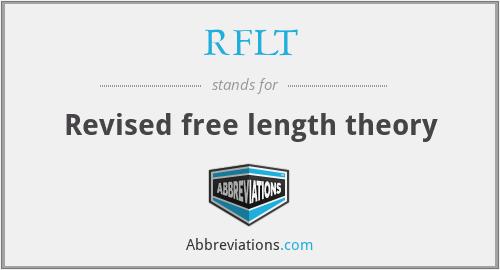 RFLT - Revised free length theory