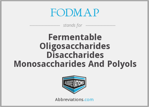 What does FODMAP stand for?