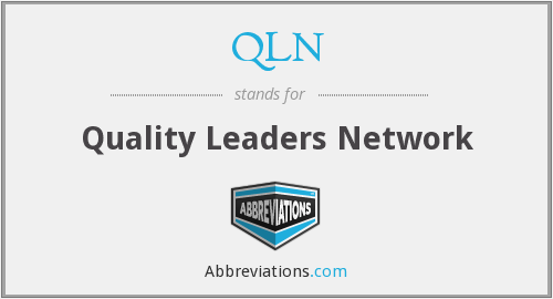 What does QLN stand for?
