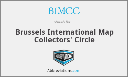 BIMCC - Brussels International Map Collectors' Circle