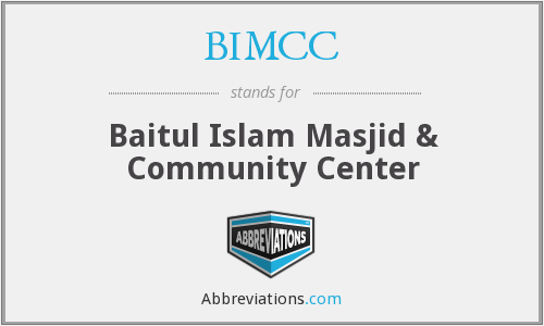 What does BIMCC stand for?