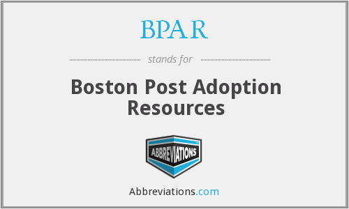What does BPAR stand for?