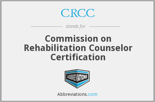 CRCC - Commission on Rehabilitation Counselor Certification