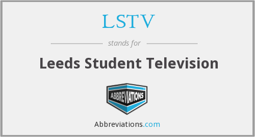 What does LSTV stand for?