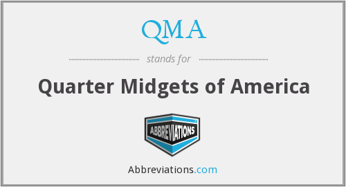 QMA - Quarter Midgets of America
