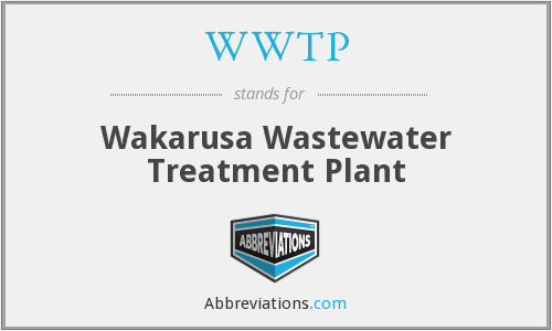 What does WWTP stand for?