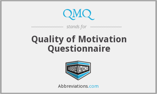 What does QMQ stand for?