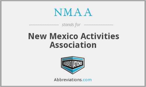 What does NMAA stand for?