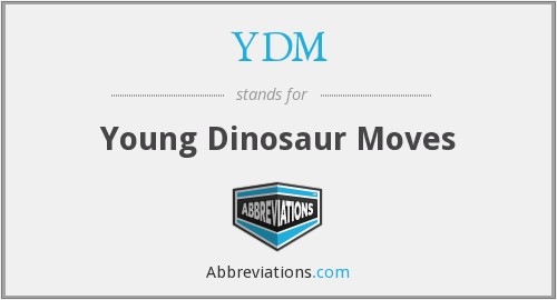 YDM - Young Dinosaur Moves