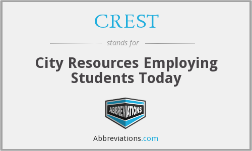 CREST - City Resources Employing Students Today