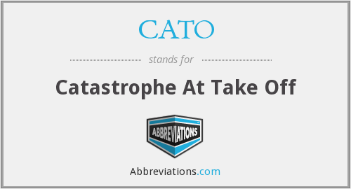 What does CATO stand for?