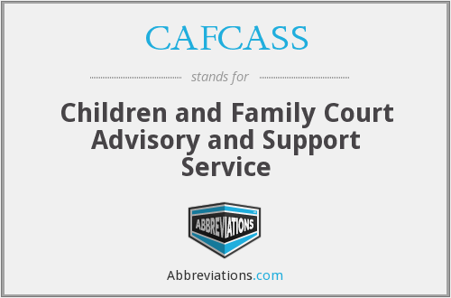 CAFCASS - Children and Family Court Advisory and Support Service