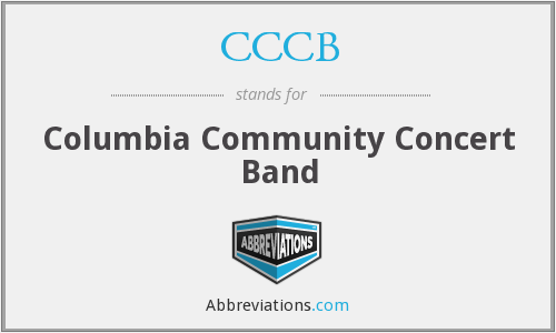 CCCB - Columbia Community Concert Band