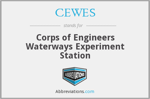 What does CEWES stand for?