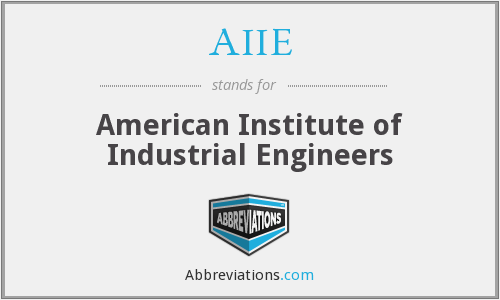 What does AIIE stand for?