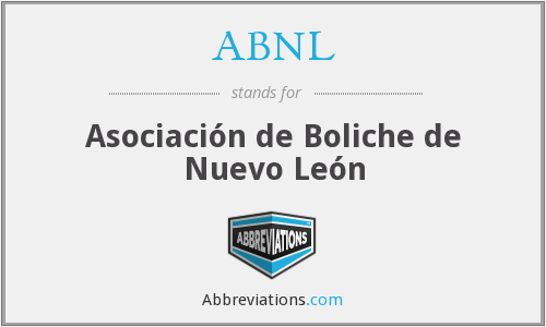 What does ABNL stand for?