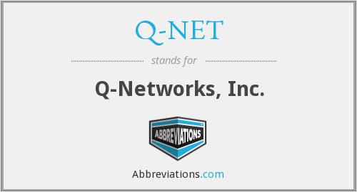 What does Q-NET stand for?