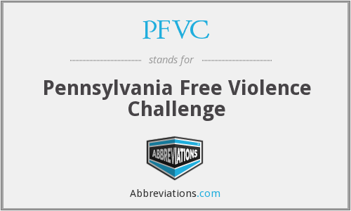 PFVC - Pennsylvania Free Violence Challenge