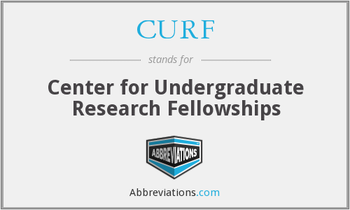 CURF - Center for Undergraduate Research Fellowships