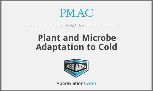PMAC - Plant and Microbe Adaptation to Cold