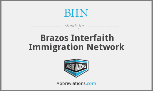 What does BIIN stand for?