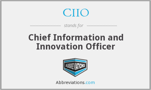 What does CIIO stand for?