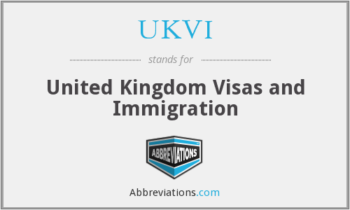 What does UKVI stand for?