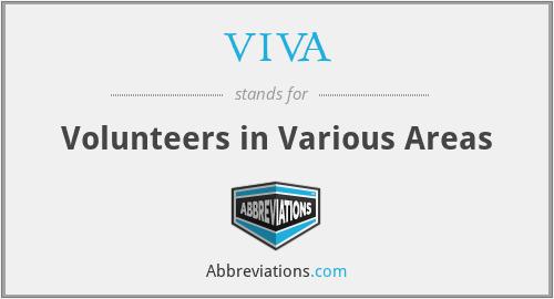VIVA - Volunteers in Various Areas