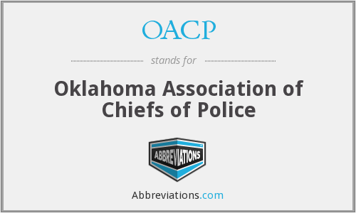 What is the abbreviation for oklahoma association of chiefs of police?