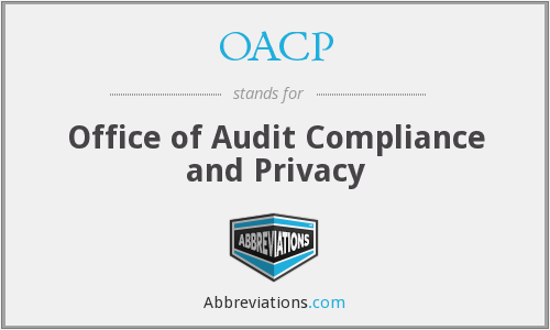 OACP - Office of Audit Compliance and Privacy