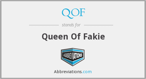 QOF - Queen Of Fakie