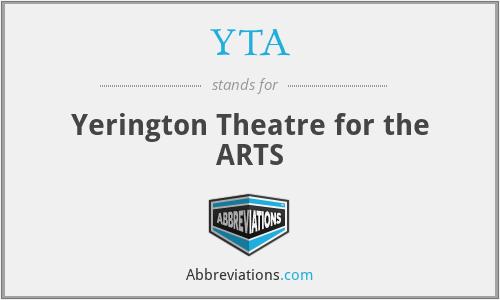 YTA - Yerington Theatre for the ARTS