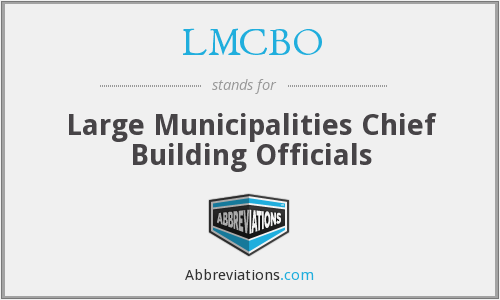 What does LMCBO stand for?