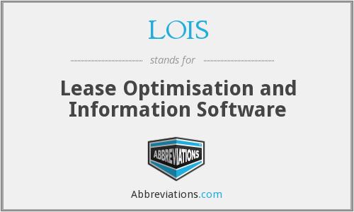 LOIS - Lease Optimisation and Information Software