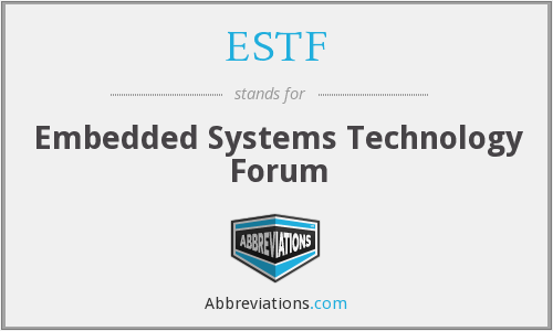 What does ESTF stand for?