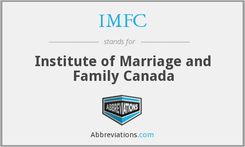 IMFC - Institute of Marriage and Family Canada