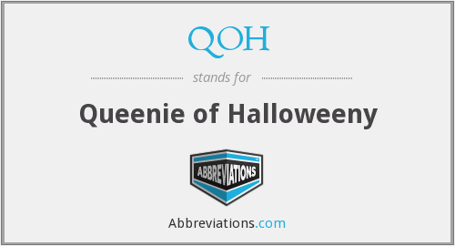 QOH - Queenie of Halloweeny