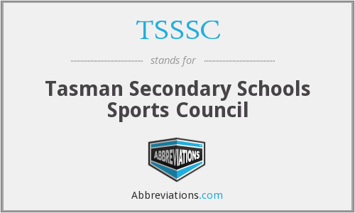 What does TSSSC stand for?