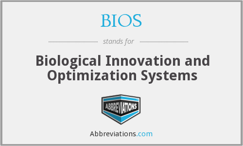 BIOS - Biological Innovation and Optimization Systems