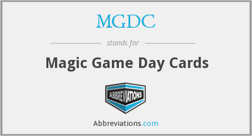MGDC - Magic Game Day Cards