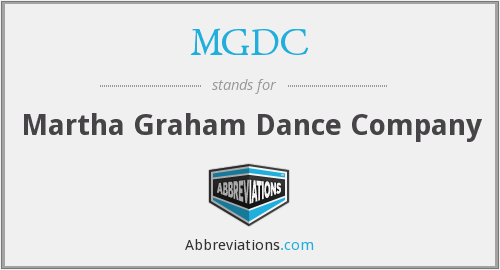 MGDC - Martha Graham Dance Company