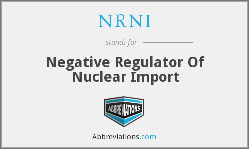 What does NRNI stand for?