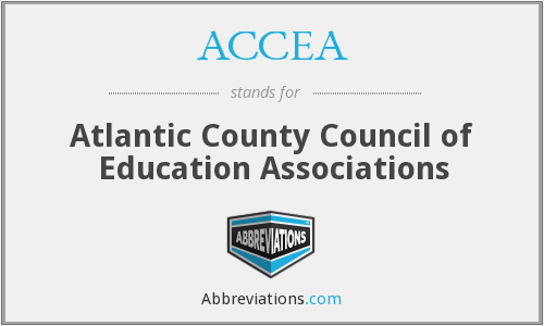 ACCEA - Atlantic County Council of Education Associations