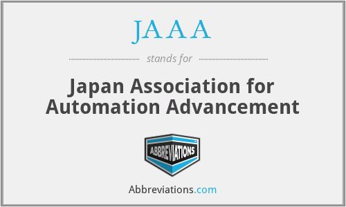 JAAA - Japan Association for Automation Advancement