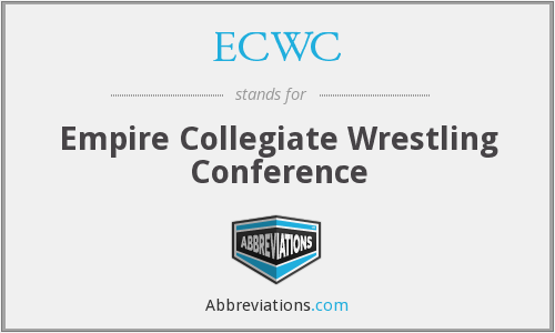 What does ECWC stand for?